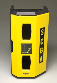 4125 Single Hi Viz Yellow SCBA Case